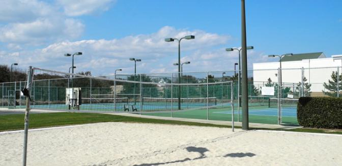 Currituck Club Tennis Courts Gated Outer Banks Community