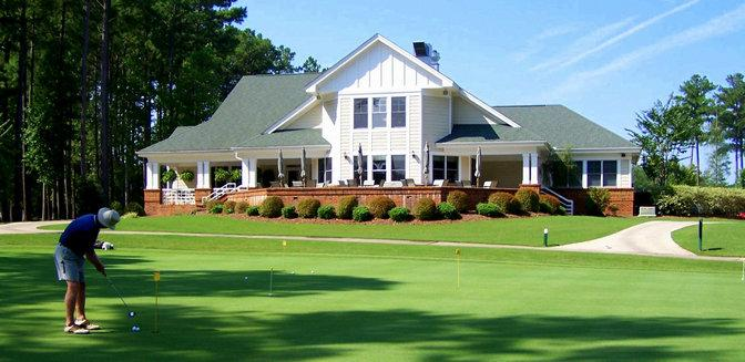 Cypress Landing NC Golf Clubhouse
