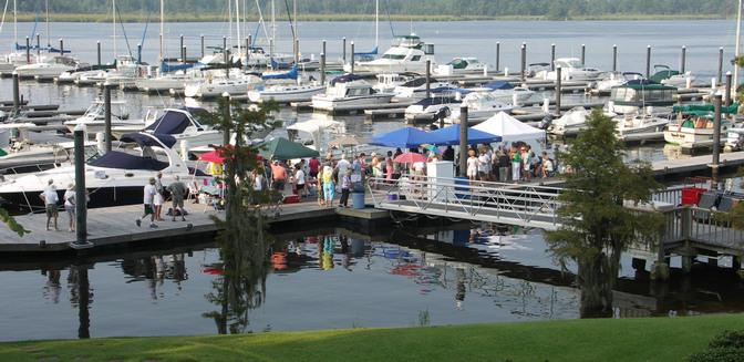 Cypress Landing NC Marina Events