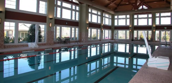 Del Webb Lake Oconee Indoor Swimming Pool