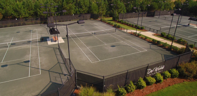 Del Webb Lake Oconee Tennis Courts