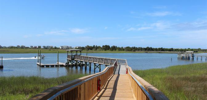 Dolphin Shores Wilmington NC Boat Dock
