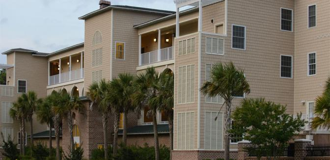Dolphin Shores Wilmington NC Condominiums