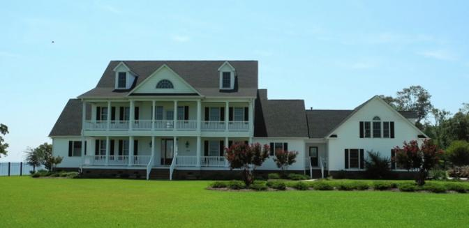 Edenton NC Scotch Hall Preserve Waterfront Home