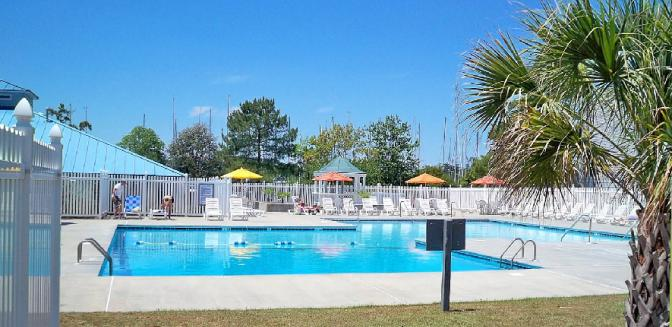 Fairfield Harbour Swimming Pool New Bern Marina Community