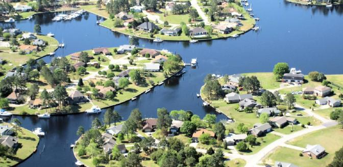 Fairfield Harbour Waterfront Homes New Bern NC
