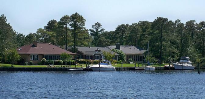 Fairfield Harbour Waterfront Homes New Bern Marina Community