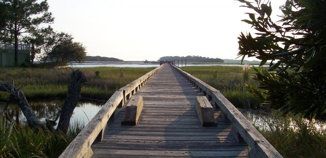 Fripp Island SC Bicycle Paths