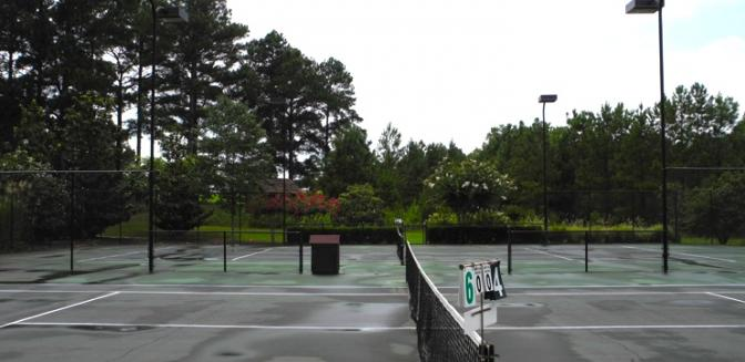 Georgia Lake Community Cuscowilla Tennis Courts