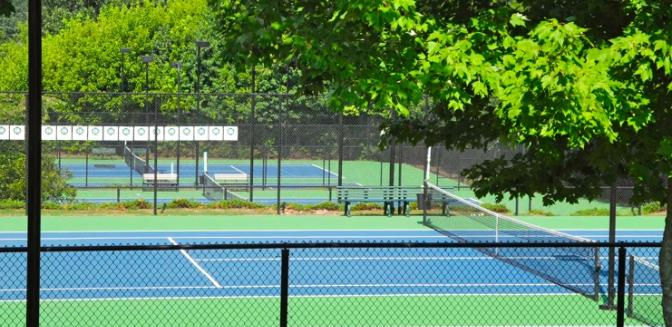 Georgia Lake Community Hampton Golf Village Tennis Courts