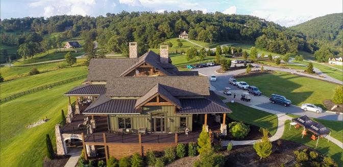 Grand Highlands NC Clubhouse
