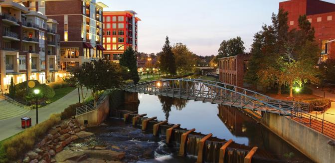 Greenville SC Reedy River