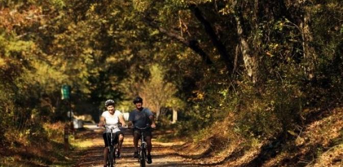 Greenville SC Swamp Rabbit Trail