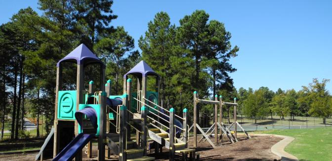 Greenville SC Woodfin Ridge Childrens Playground