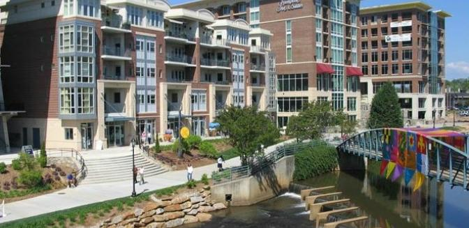 Greenville SC Downtown Condo River Place