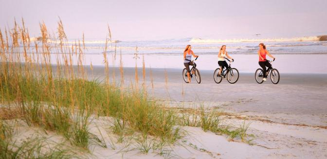 HHI Beach Biking