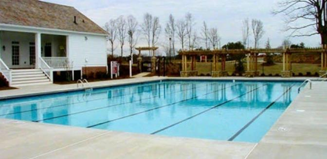 Hampton Golf Village Georgia Community Swimming Pool