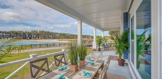 Hampton Lake in new homes in Bluffton South Carolina