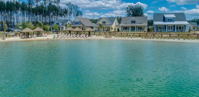Hampton Lake new homes in Bluffton
