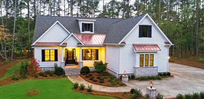 Harbor Club Lake Oconee Southern Inspired Living Home