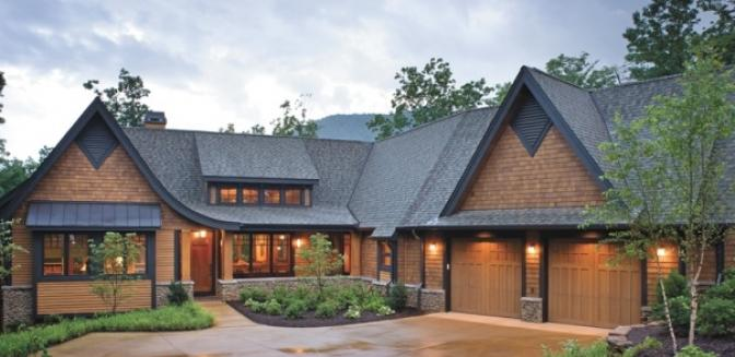 Hendersonville NC Brights Creek Golf Course Homes