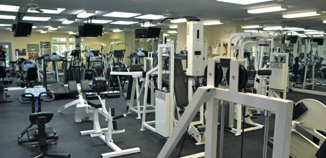 Hendersonville NC Champion Hills Fitness Center