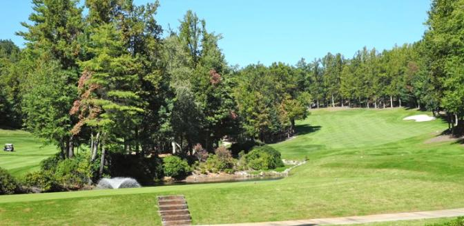 golf course at Champion Hills