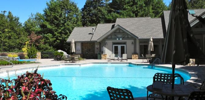 Hendersonville NC Champion Hills Swimming Pool
