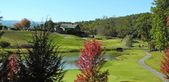 Hendersonville NC Cummings Cove Golf Clubhouse