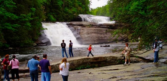 Hendersonville NC Dupont Forest Waterfalls