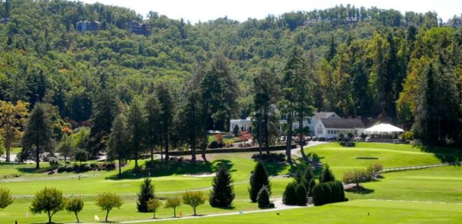 Hendersonville NC Kenmure Golf Clubhouse