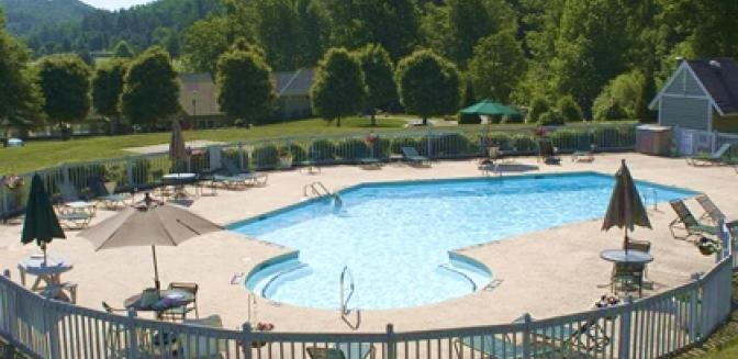 Hendersonville NC Kenmure Swimming Pool Outdoors
