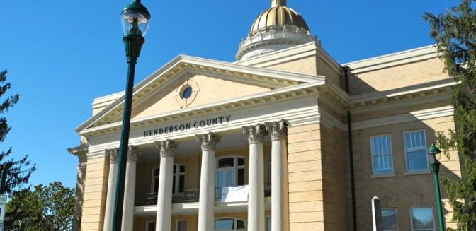 Hendersonville NC Downtown Courthouse