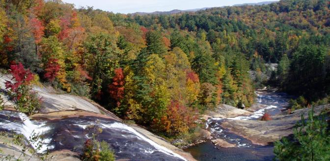 Highlands Cashiers Lake Toxaway Waterfall