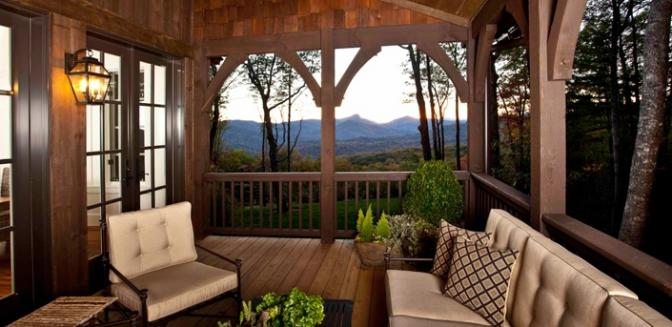 Highlands Cashiers Preserve At Rock Creek Outdoor Living Room