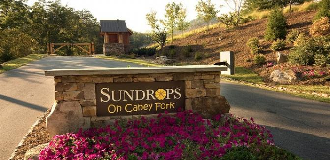 Highlands Cashiers Sundrops On Caney Fork Entrance