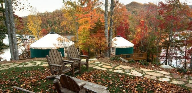 Highlands Cashiers Sundrops On Caney Fork Yurts