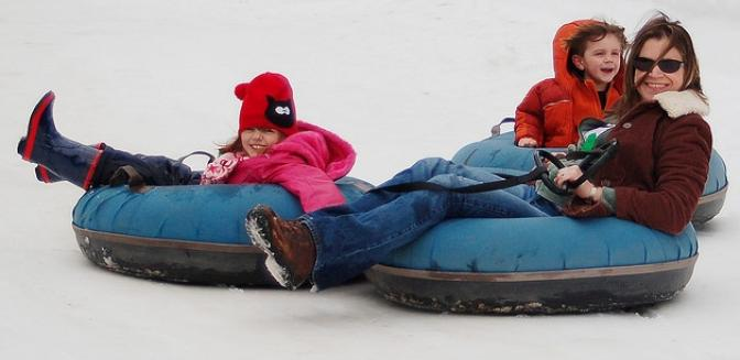 Highlands Cashiers Snow Tubing Sapphire Valley