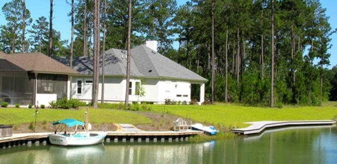Hilton Head Lakes SC Lakefront Homes