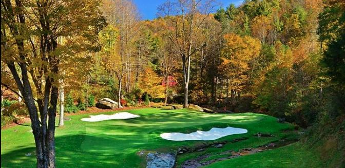 Hound Ears NC Golf Course Blowing Rock