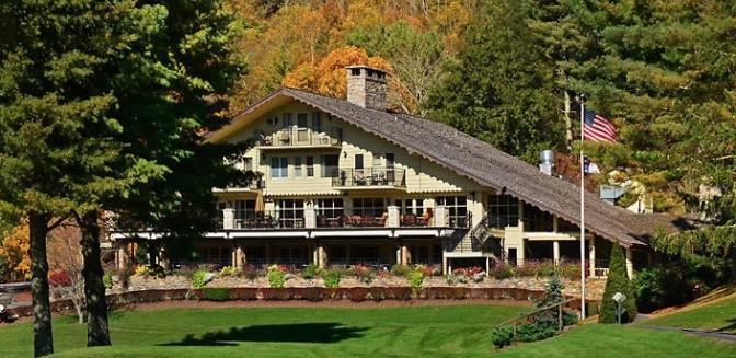 Hound Ears Golf Clubhouse Blowing Rock