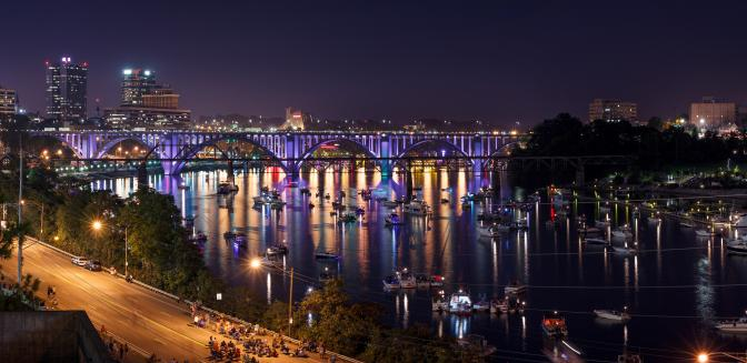 Knoxville Tennessee Riverfront