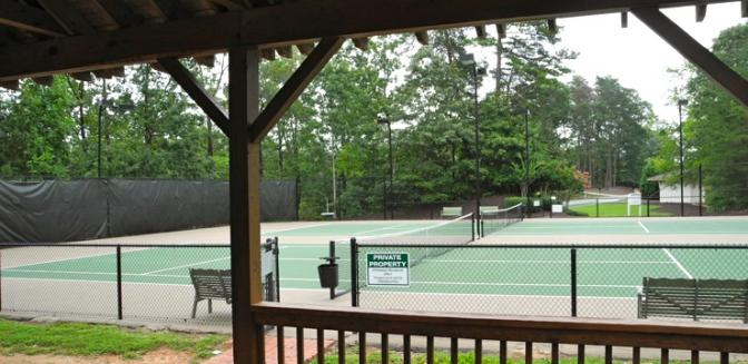 Lake Sidney Lanier Chestatee Tennis Courts