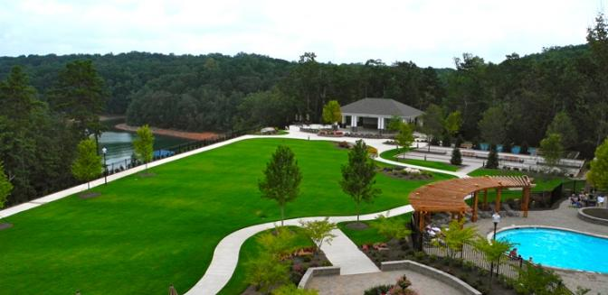 Lake Sidney Lanier Cresswind Clubhouse Views