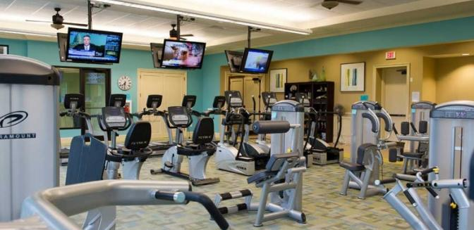 Lake Sidney Lanier Cresswind Fitness Center