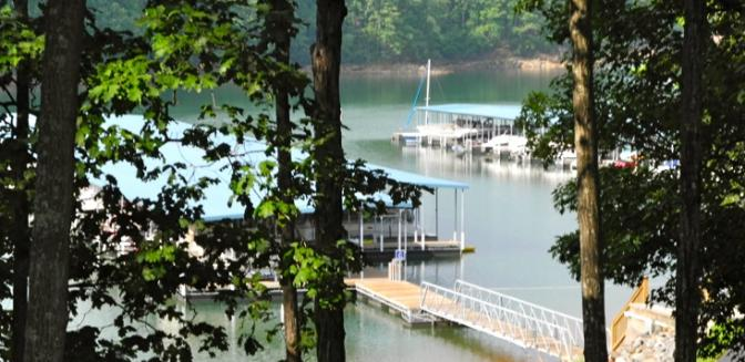 Lake Sidney Lanier Harbour Point Yacht Club Boat Docks