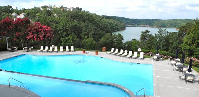 Lake Sidney Lanier Harbour Point Yacht Club Swimming Pool