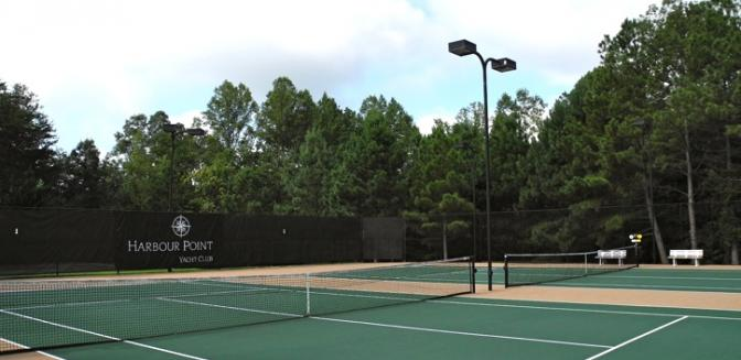 Lake Sidney Lanier Harbour Point Yacht Club Tennis Courts