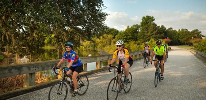 Landfall Country Club Bike Paths
