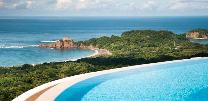 Las Ventanas Del Mar Costa Rica Swimming Pool Views
